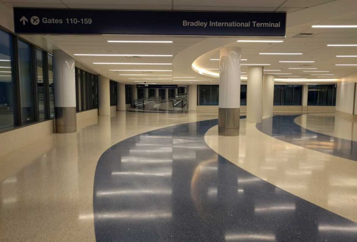 LAX Bradley West Terminal 4 Connector