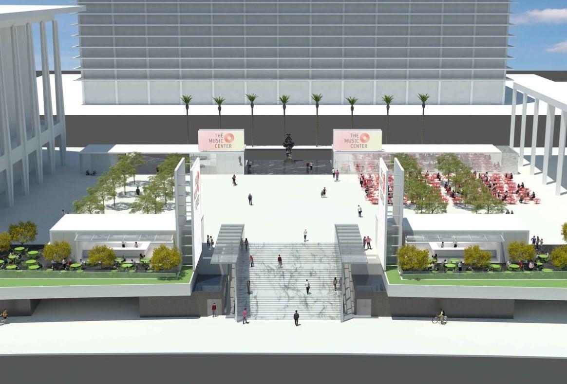Music Center Plaza Renovation